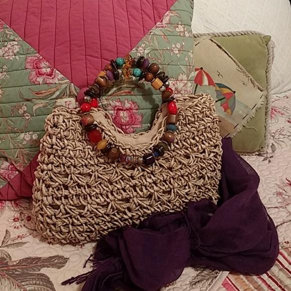 cappelli Handbags - Cappelli 🌟 Straworld tote 2f790d20c8bc